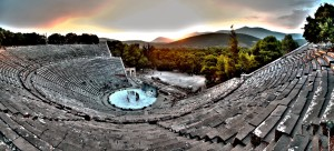 Epidavros ancient Theatre, Ifigenia en Tavris, 2015